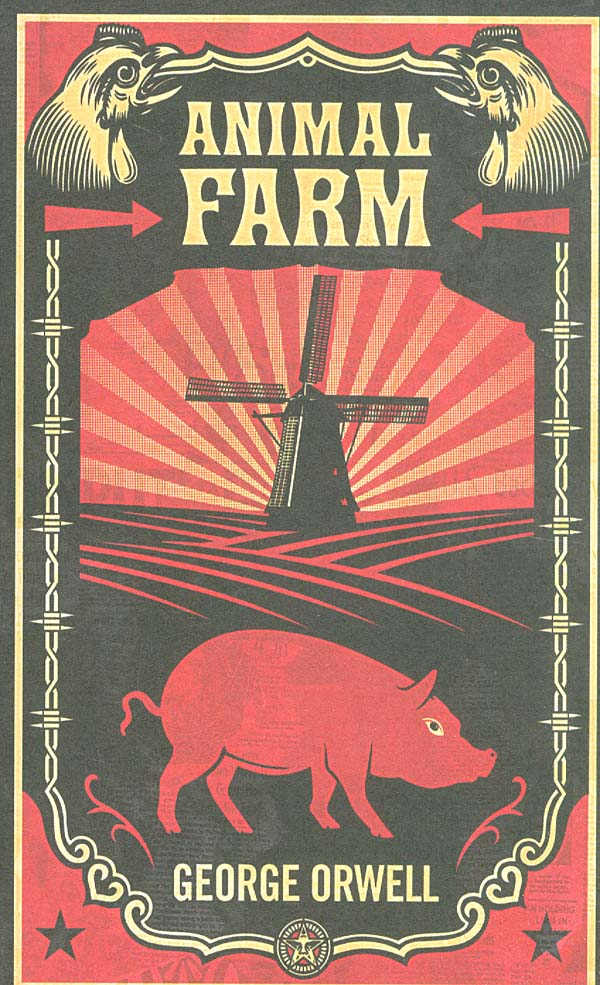 an analysis of the reasons the animals gave up their freedom of choice in animal farm by george orwe