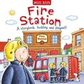 Claire Philip – Fire station : A storybook, building and playmat!