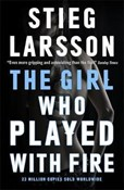 Stieg Larsson – Girl Who Played With Fire: A Dragon Tattoo story