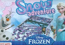 Hra Snow adventure Frozen