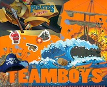 TEAMBOYS Pirates Stickers!