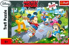 Puzzle 100D Mickey Mouse & Friends