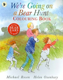We're Going on a Bear Hunt - Colouring Book