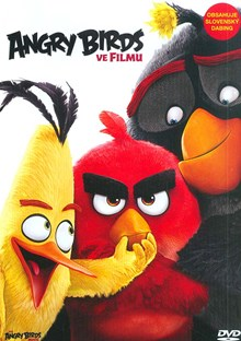 DVD Angry Birds ve filmu