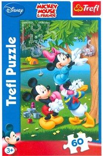 Puzzle 60D Mickey Mouse & Friends