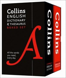 Collins English Dictionary + Thesaurus  Boxed Set