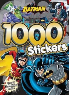 Batman 1000 Stickers