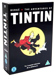 DVD - The adventures of Tintin