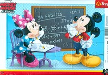 Puzzle 30D Mickey Mouse & Frie