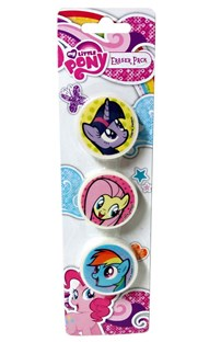 Guma 3 ks My little pony