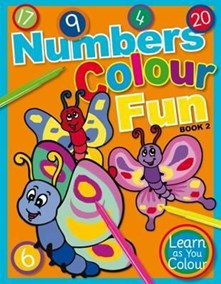 Numbers Colour Funk Book 2