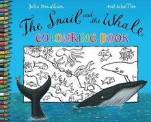 Snail and the Whale colouring book