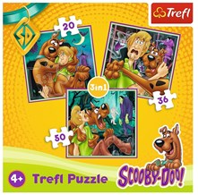Puzzle 3v1 Scooby Doo